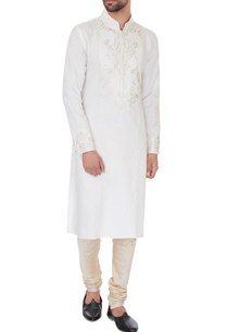 cream-linen-embroidered-kurta-pyjamas