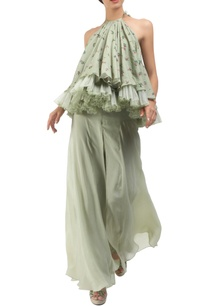 antique-jade-tulle-floral-hand-painted-blouse