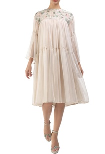 grey-dusty-pink-tulle-hand-painted-tiered-dress