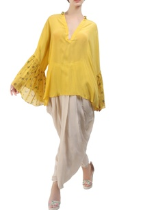 yellow-crepe-silk-victorian-floral-blouse