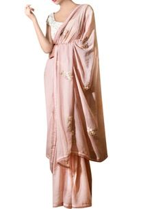 ash-pink-chiffon-ribbon-embroidered-sari-with-blouse