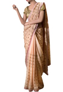 beige-gota-floral-sari-with-gold-blouse