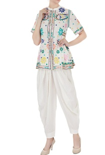 ivory-thread-embroidered-blouse-with-patiala-pants