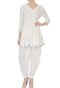 ivory-pure-cotton-rajasthani-coin-embroidered-kurta-set