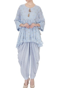 blue-rajasthani-applique-kurta-with-pants
