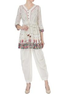 ivory-rajasthani-thread-embroidered-kurta-with-patiala-pants