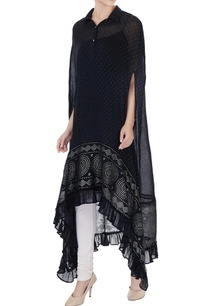 black-high-low-foil-printed-cape-with-inner