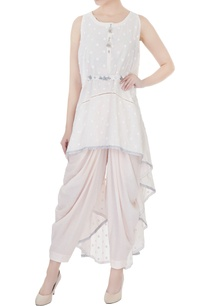 pale-pink-high-low-asymmetric-tunic-with-salwar-pants