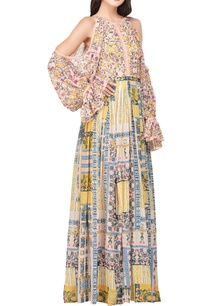 multicolored-japanese-inspired-floral-printed-maxi-dress