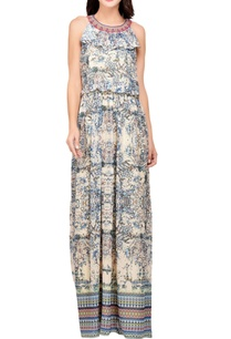 multi-colored-poly-voile-printed-embroidered-maxi-dress