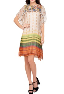 multi-colored-printed-embroidered-tunic-dress