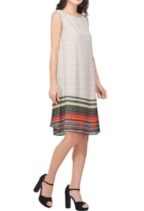 multi-colored-poly-crepe-printed-embellished-tunic-dress