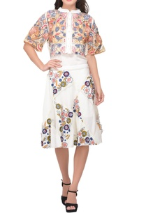 multi-colored-poly-crepe-poly-georgette-net-embroidered-patch-skirt