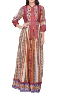 multi-colored-chanderi-printed-maxi-dress