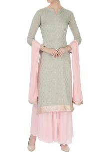 pale-grey-baby-pink-chinon-mukaish-work-kurta-with-skirt-dupatta