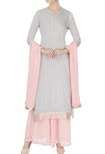 pale-grey-baby-pink-chinon-mukaish-work-kurta-with-skirt-dupatta