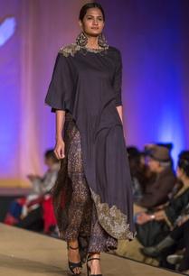 black-dabka-embroidered-kurta-with-mughal-printed-culottes