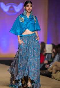 blue-mangrol-khadi-high-low-lehenga-set
