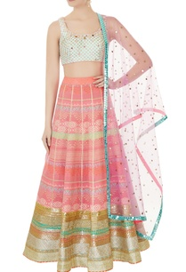 pink-woven-lehenga-with-blouse-purple-dupatta