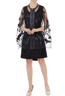 black-tulle-net-applique-jacket