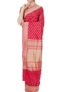 pink-mulberry-silk-zari-work-ahaana-sari-with-blouse-piece