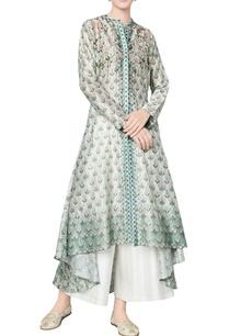 sage-green-chanderi-silk-printed-tunic