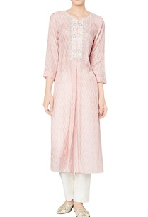 blush-modal-silk-printed-kurta