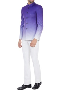 purple-gradient-printed-polyester-bandhgala