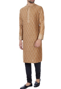 beige-gota-hand-embroidered-kurta
