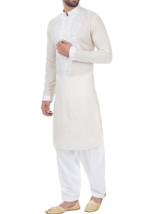 beige-mirror-work-embroidered-kurta
