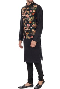 multicolored-floral-nehru-jacket