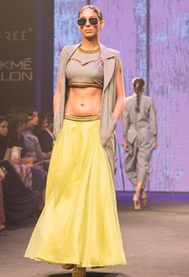 lime-green-raw-silk-net-lehenga