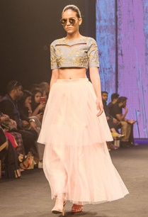 pink-double-layered-net-skirt