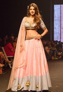 denim-embroidered-blouse-lehenga-set