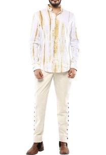 beige-linen-streak-printed-shirt