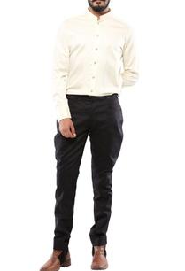 beige-linen-kantha-jodhpuri-shirt