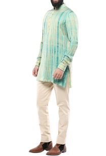 teal-green-silk-tie-dye-kurta