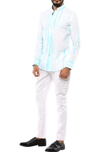 blue-white-tie-dye-printed-shirt