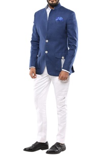 blue-convertible-collar-blazer