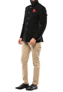 black-brush-cotton-jodhpuri-jacket