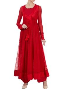 red-tie-up-angrakha-jacket-set-by-shyam-narayan-prasad