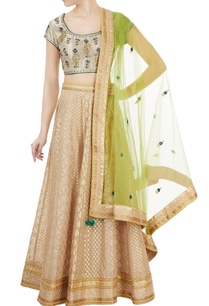 beige-gold-brocade-chanderi-lehenga-set