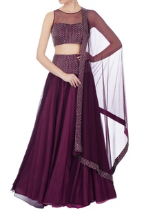 wine-crepe-silk-hand-embroidered-lehenga-set
