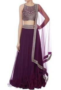 wine-gota-embroidered-lehenga-set