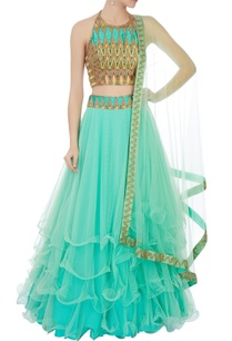mint-green-chevron-embroidered-net-lehenga-set