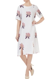 white-linen-rhododendron-print-dress