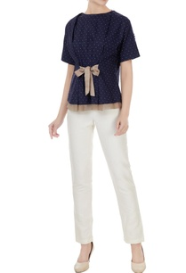 indigo-cotton-polka-blouse