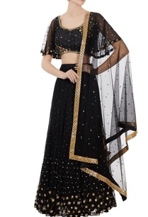 black-net-sequin-blouse-with-lehenga
