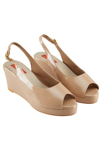 beige-2-5-inch-patent-faux-leather-peep-toe-wedges