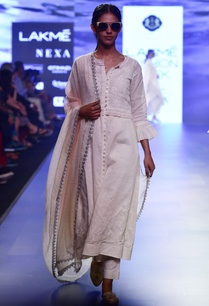 white-chikankari-choga-jacket-with-scallop-waistcoat-straight-pants